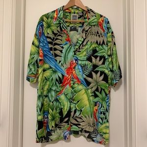 Other - Floral/Parakeet shirt